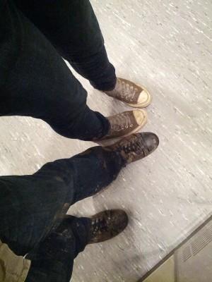 Volt két pár cipőnk